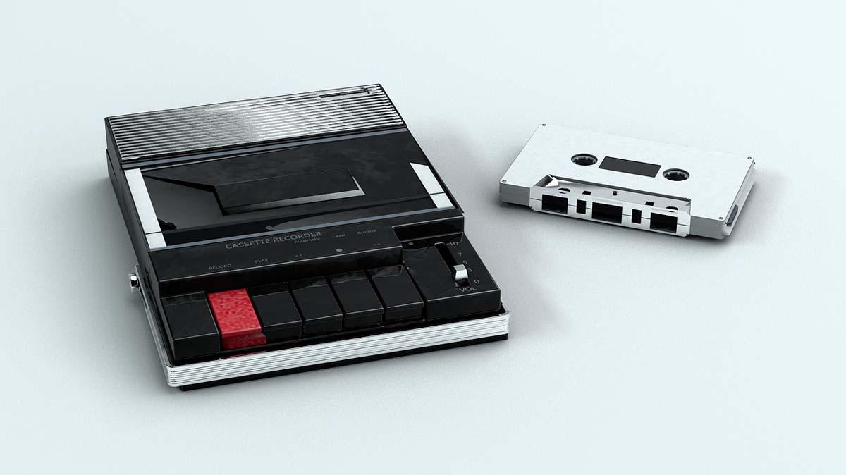 カセットテープ音源デジタル化